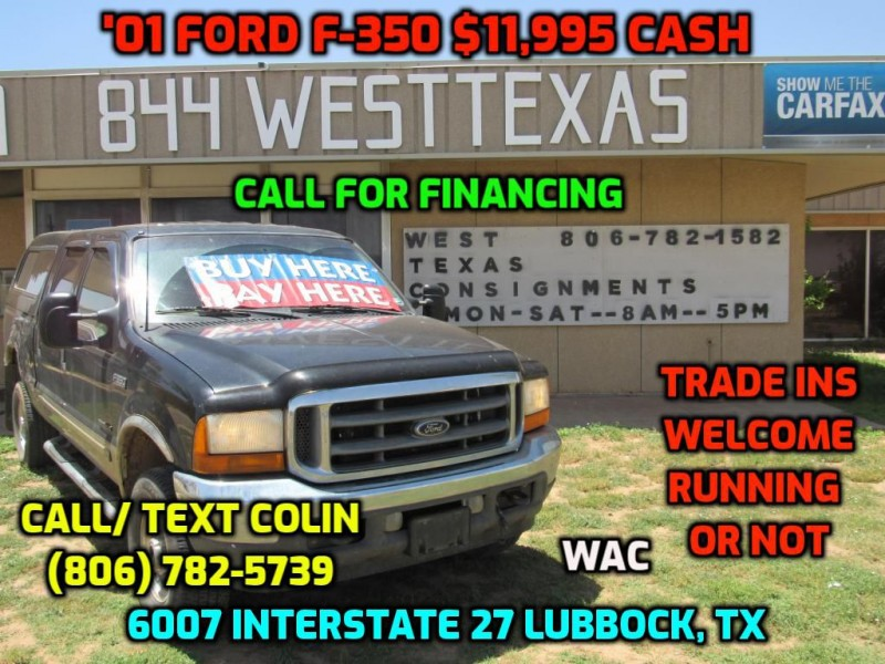 FORD F350 7.3L 2001 price $12,995