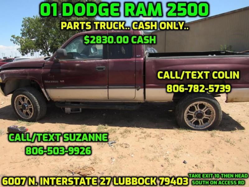 DODGE RAM 2500 2001 price $2,830