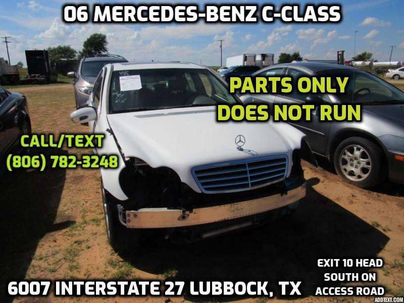 MERCEDES-BENZ C-CLASS 2006 price $3,500