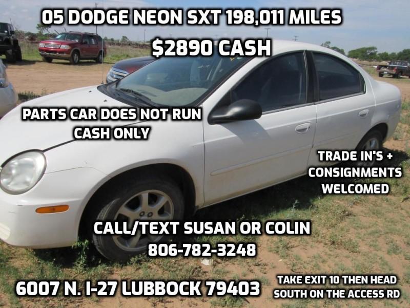 DODGE NEON 2005 price $2,890
