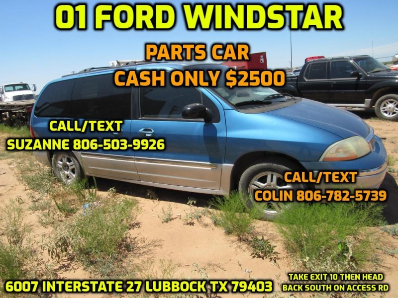 FORD WINDSTAR 2001 price $2,500