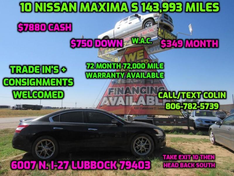 NISSAN MAXIMA 2010 price $7,920