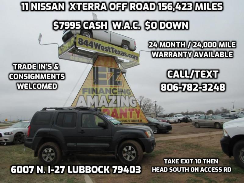 NISSAN XTERRA 2011 price $8,495