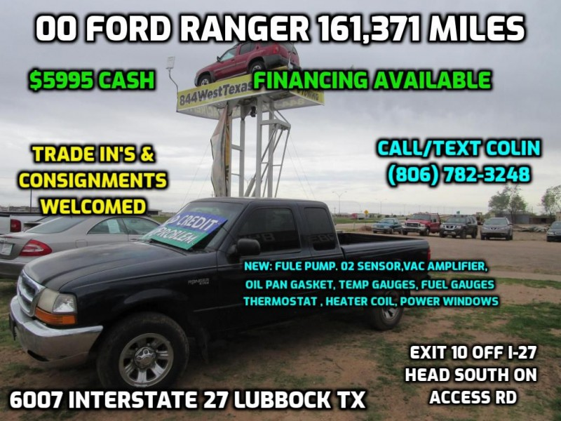 FORD RANGER 2000 price $5,080