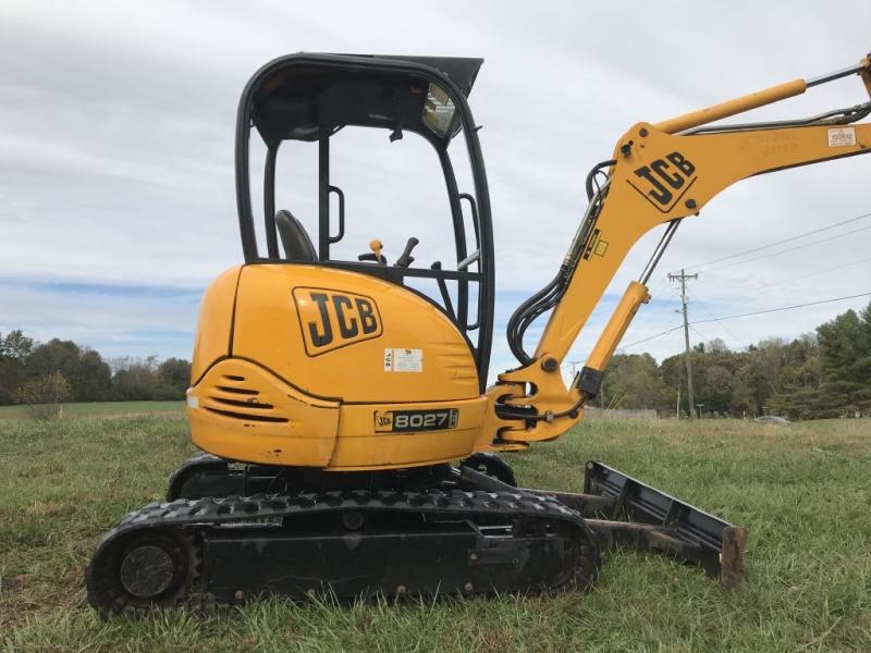 JCB 8027 ZTS 2004 price $21,499