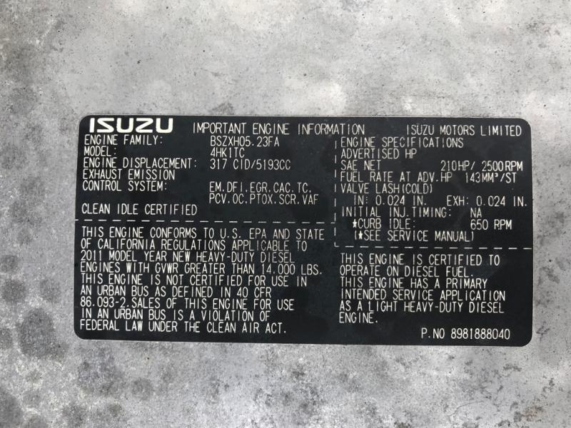 ISUZU NPR HD ROLLBACK 2012 price $23,499