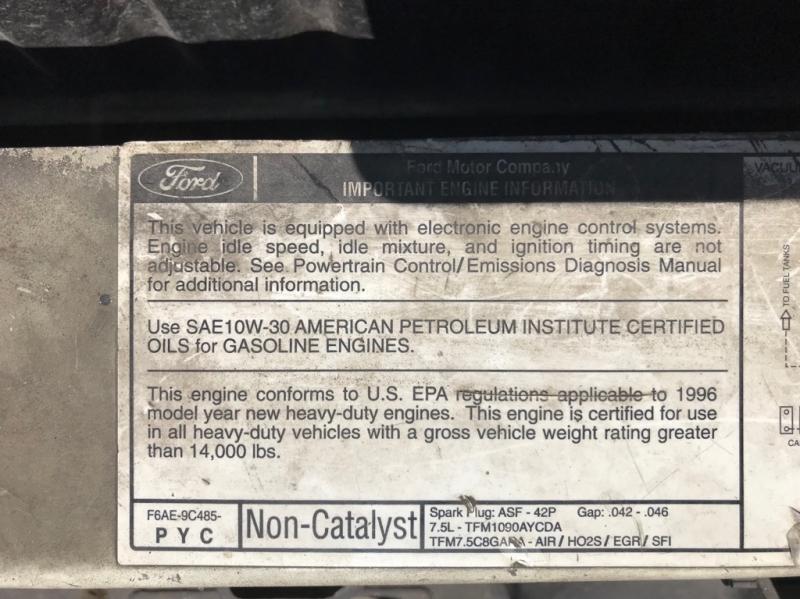 FORD E450 BUS 1996 price $5,750