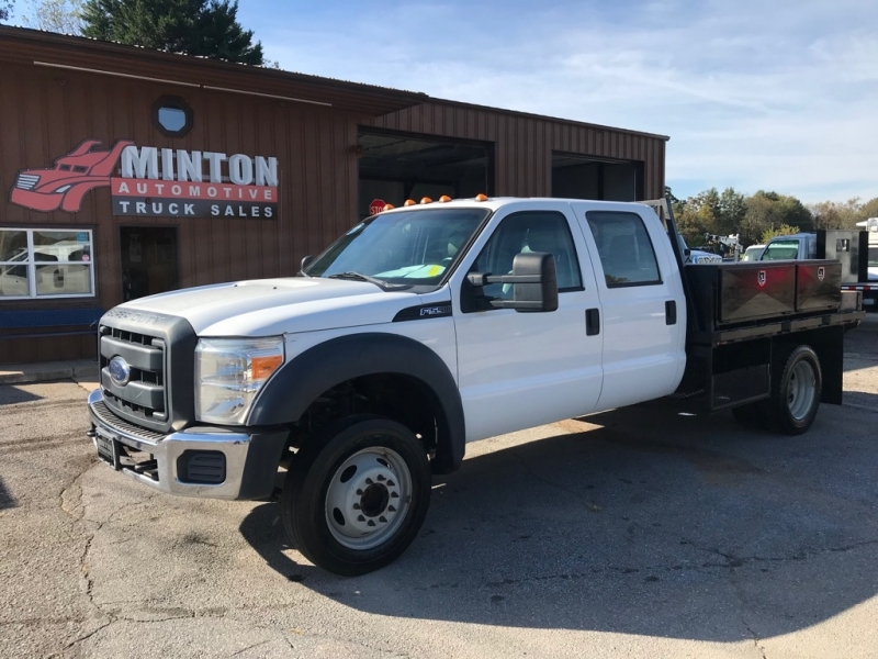 FORD F550 9' FLATBED 2013 price $25,499