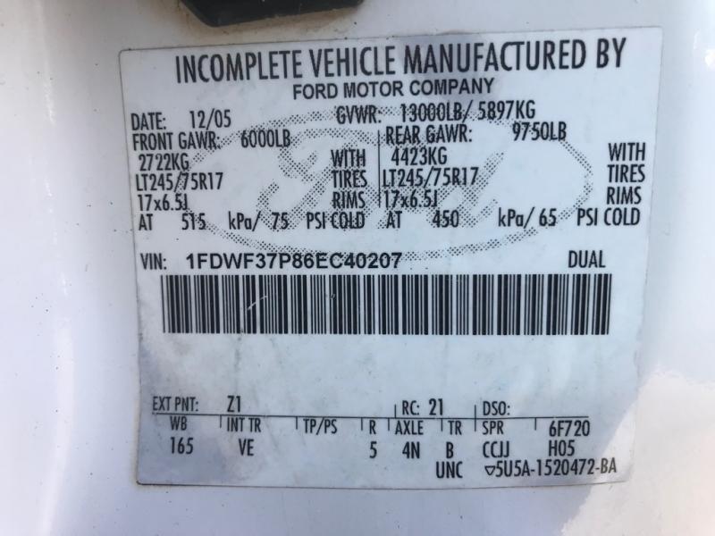 FORD F350 DUMP 2006 price $22,999