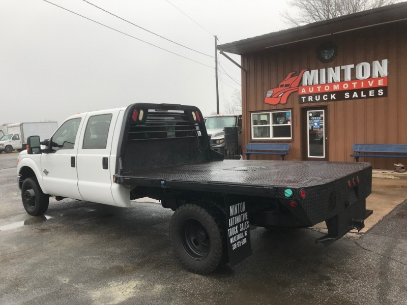 FORD F350 9' FLATBED 2012 price $24,999
