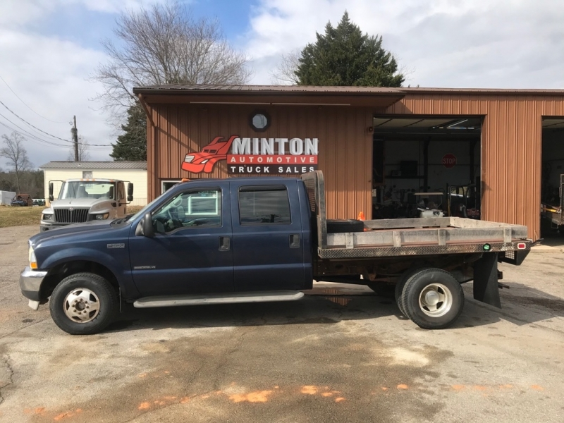 FORD F350 9' FLATBED 2002 price $13,499