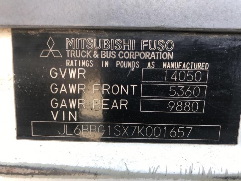 MITSUBISHI FUSO 16'FLATBED 2007 price $6,499