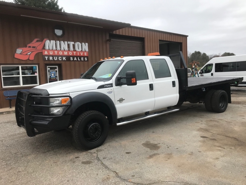 FORD F550 12'FLATBED 2013 price $32,999