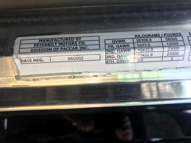 PETERBILT 379 2003 price $124,999