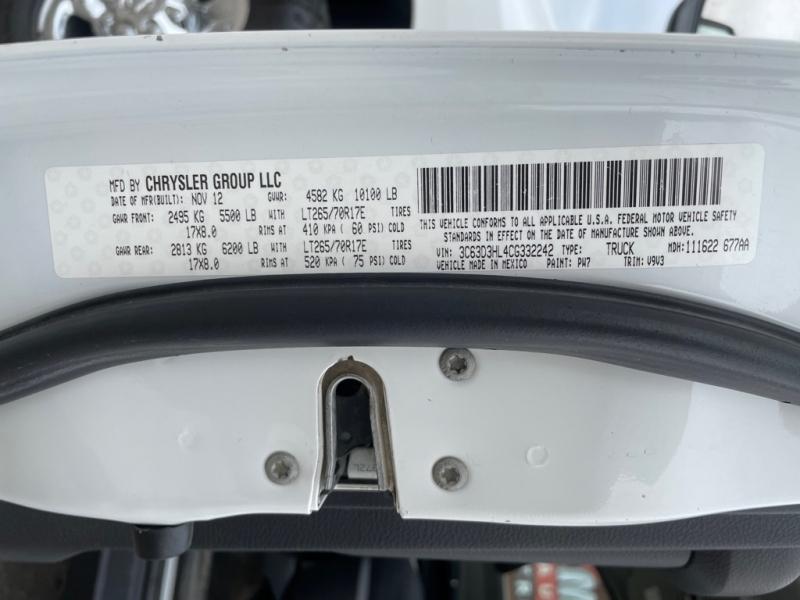 DODGE RAM 3500 2012 price $22,999