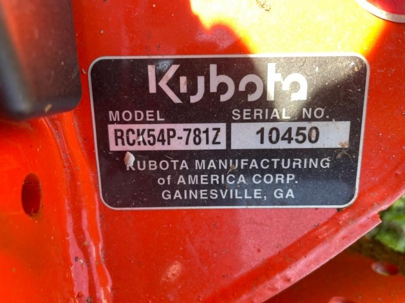 KUBOTA Z724X 2020 price $7,999