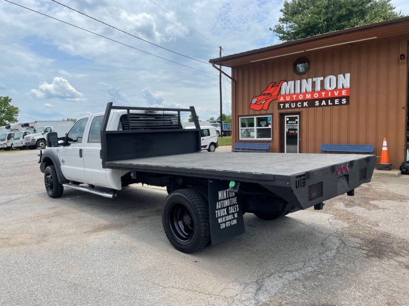 FORD F550 12'FLATBED 2013 price $34,999