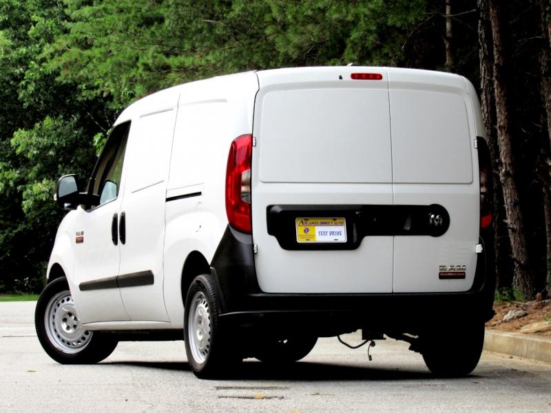 RAM ProMaster City Cargo Van 2017 price $0
