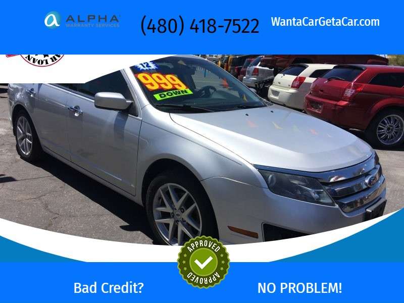 Ford Fusion 2012 price $7,950