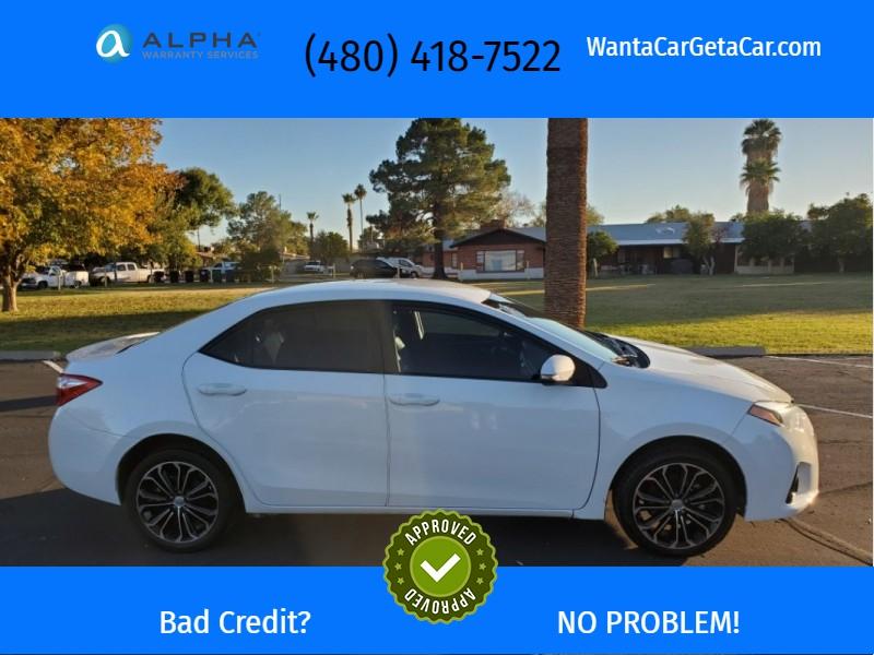 Toyota Corolla 2016 price $13,495