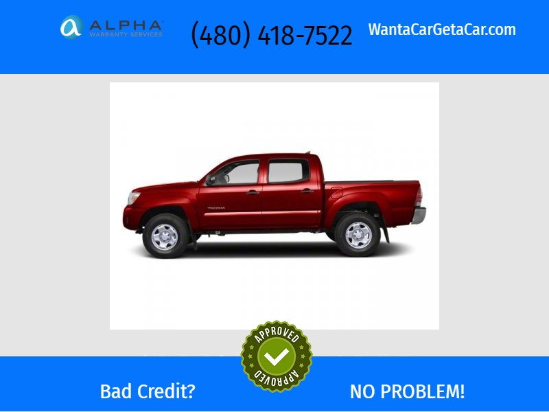 Toyota Tacoma 2012 price Call for Pricing.