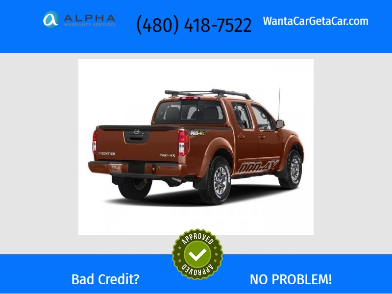 Nissan Frontier 2017 price Call for Pricing.