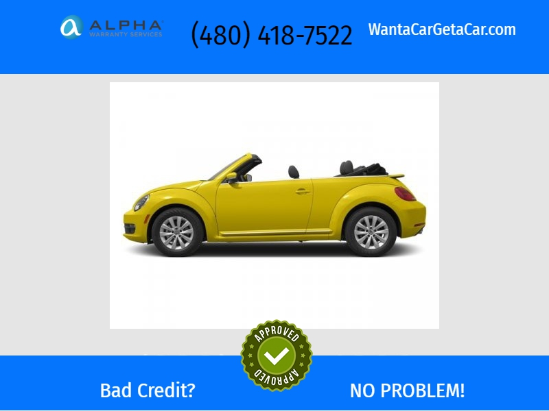 Volkswagen Beetle Convertible 2013 price $13,500