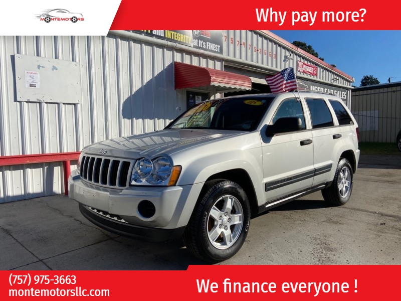 JEEP GRAND CHEROKEE 2005 price $3,995