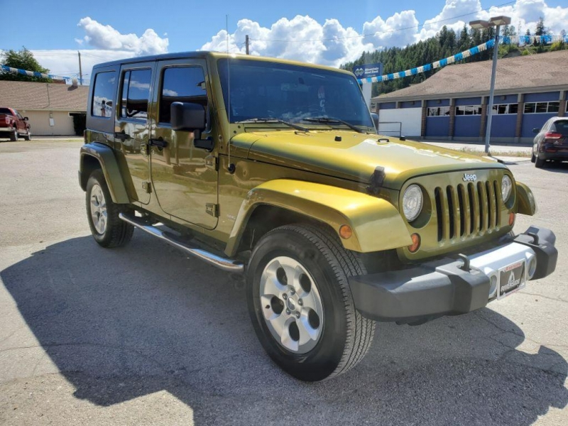Jeep Wrangler Unlimited 2008 price $16,980