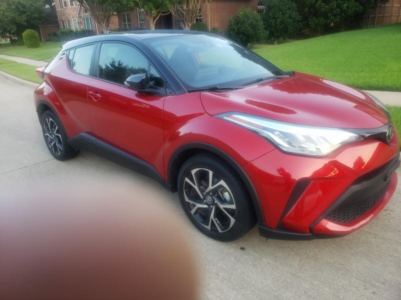 Toyota C-HR 2020 price $21,995