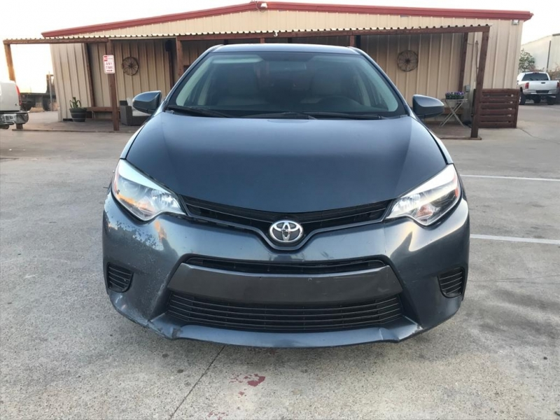 Toyota Corolla 2015 price $9,500