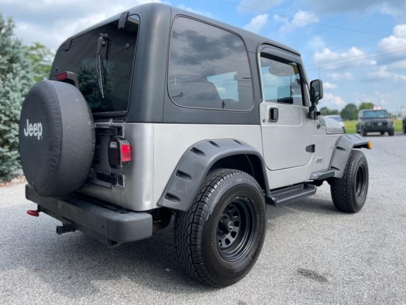 Jeep Wrangler 2002 price $12,500
