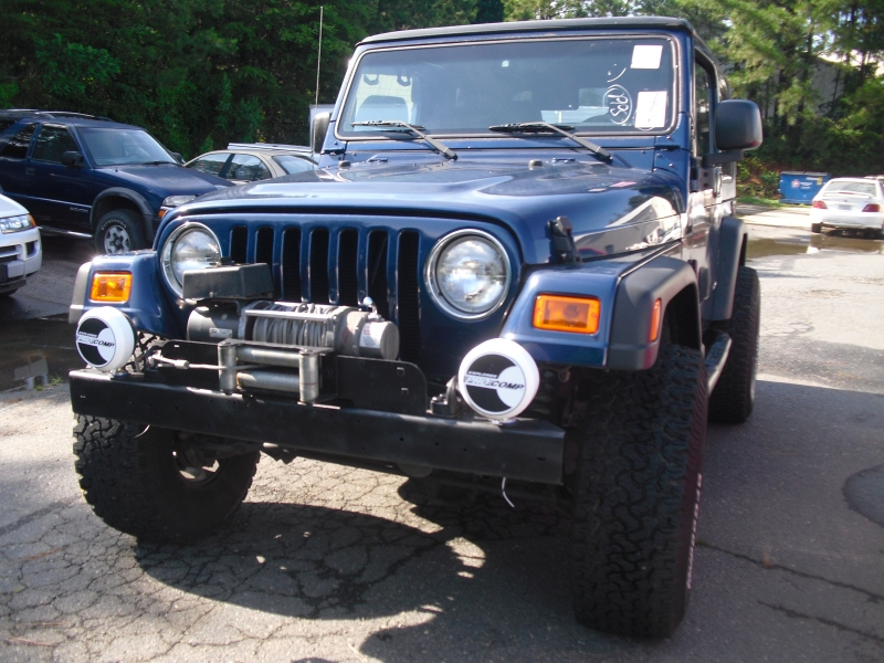Jeep Wrangler 2003 price