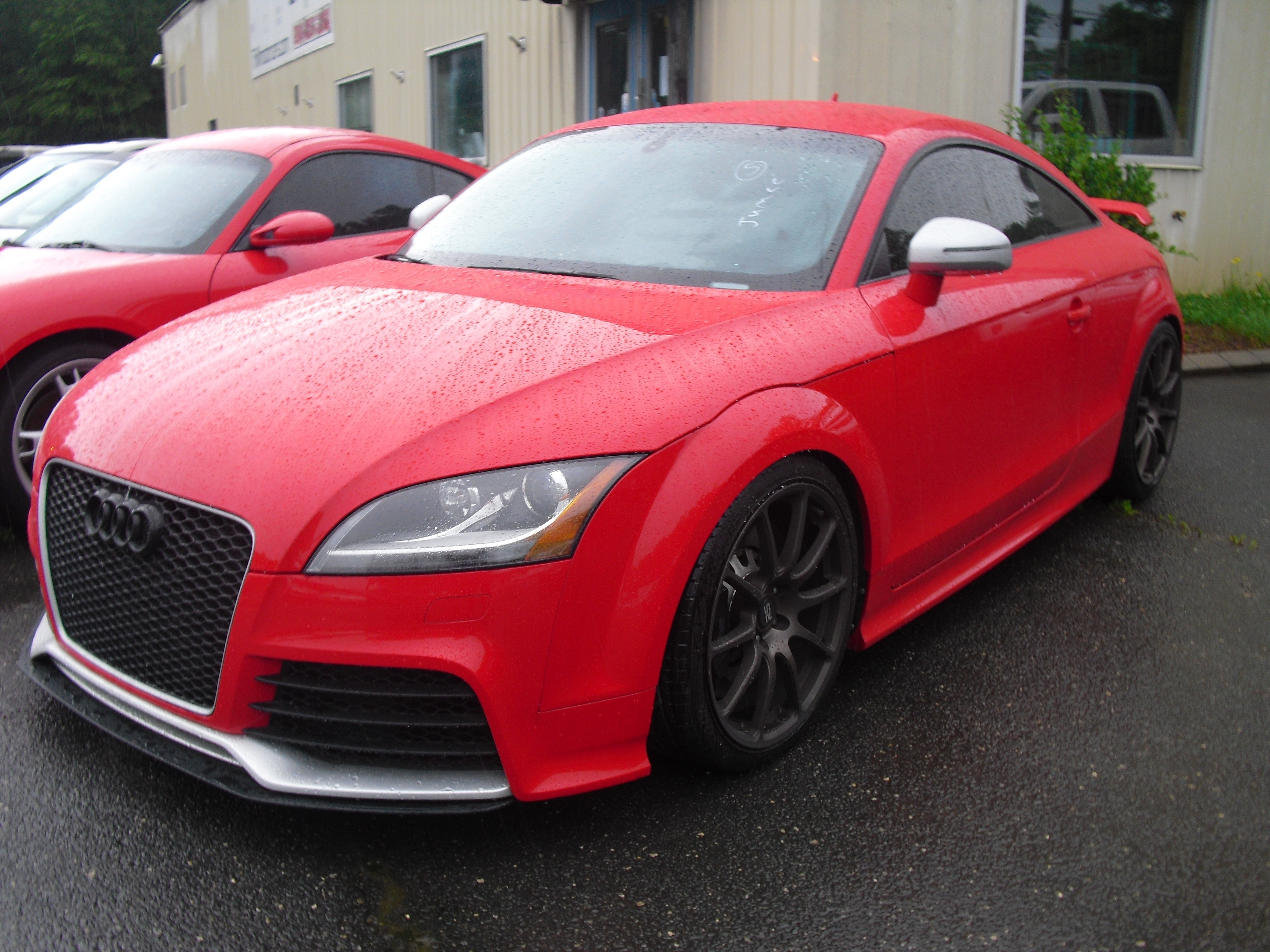 2013 Audi Tt Rs 2dr Cpe Mt Quattro 2 5t Tri M Motorcars Dealership In Fort Mill