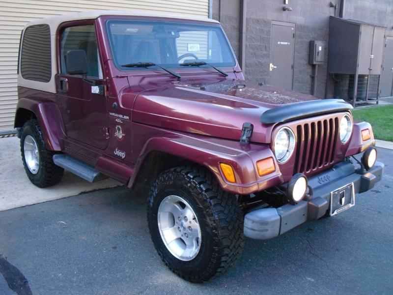 Jeep Wrangler 2001 price $0