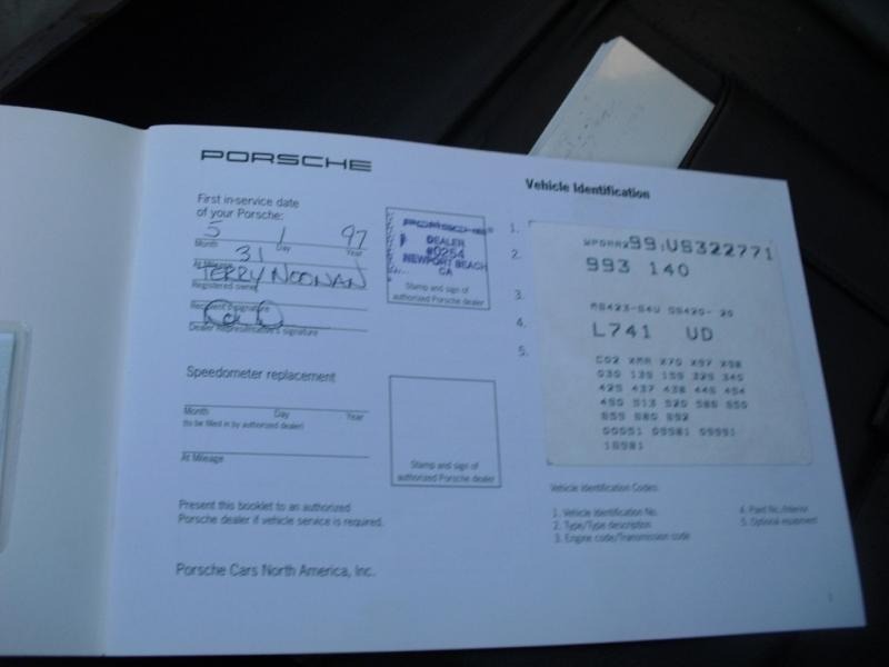 Porsche 911 Carrera 1997 price