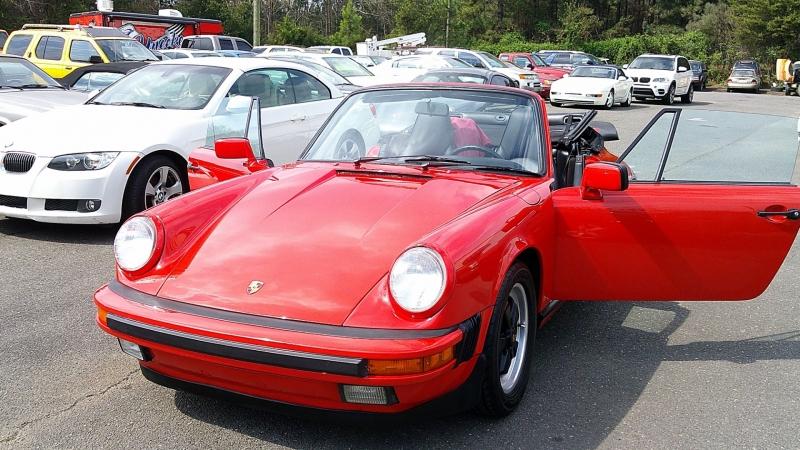 Porsche 911 Carrera 1988 price $0