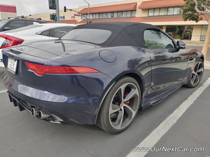 Jaguar F-TYPE 2016 price $0