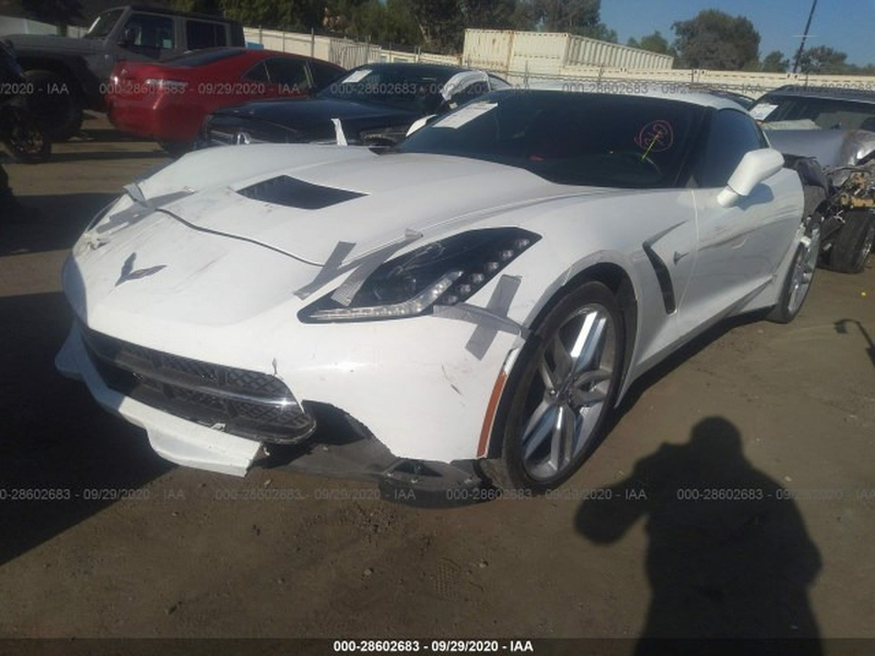 Chevrolet Corvette 2018 price $39,999