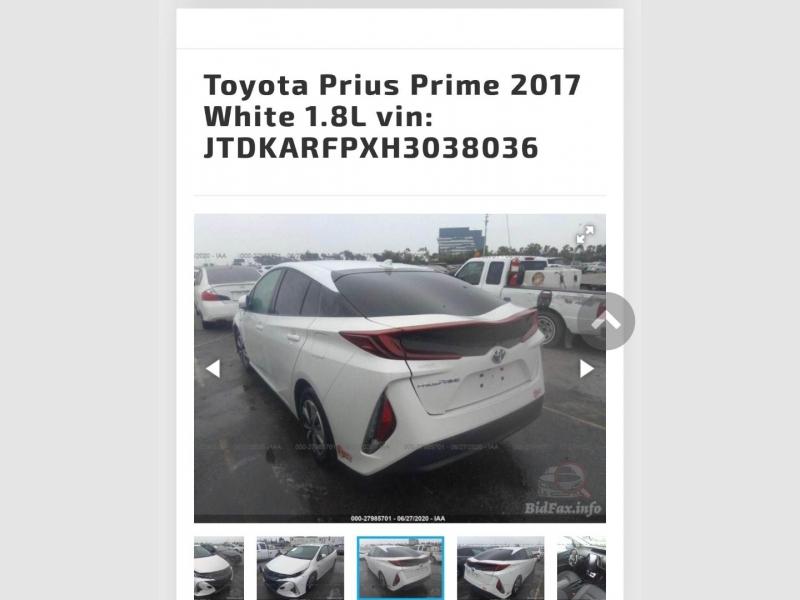 Toyota Prius Prime 2017 price $17,999
