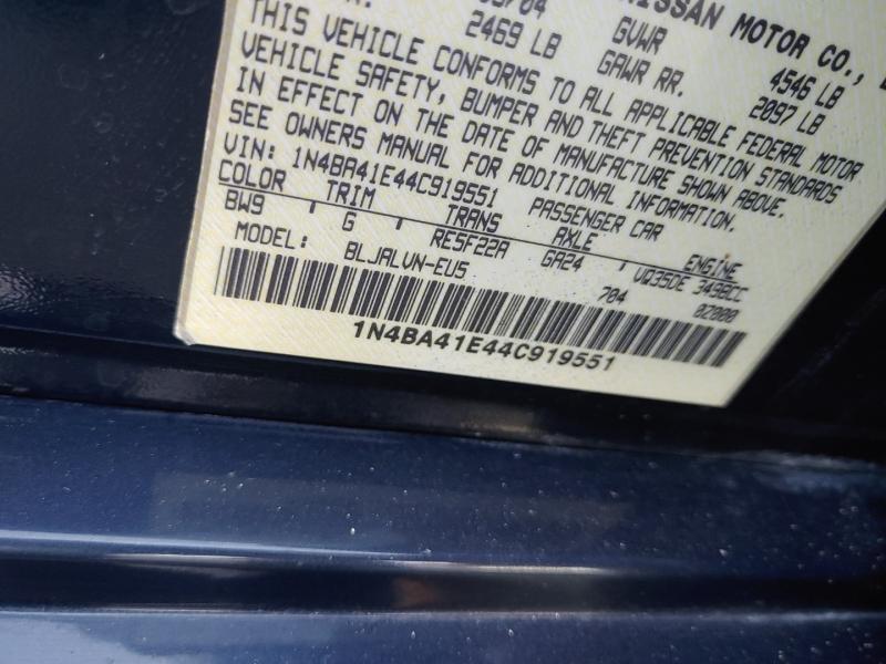 Nissan Maxima 2004 price $6,999