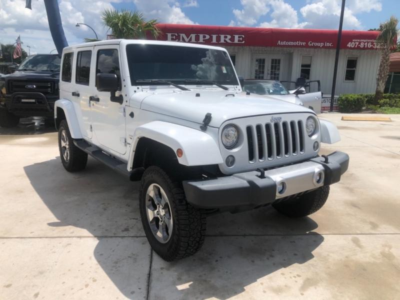 Jeep Wrangler Unlimited 2017 price $36,595