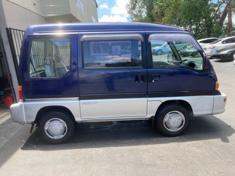 Subaru Domingo Mini Van 1995 price $7,499