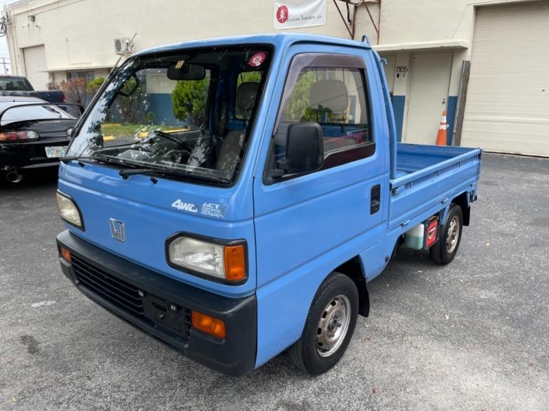 Honda ACTY 4WD SDX Mini Truck 1990 price $7,699