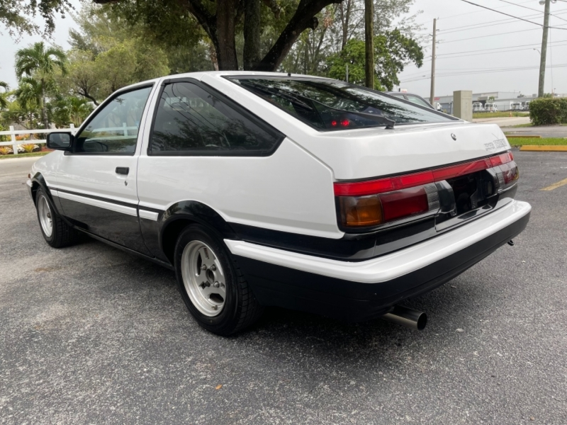 Toyota Sprinter Trueno GT-V 20V 1984 price $37,999