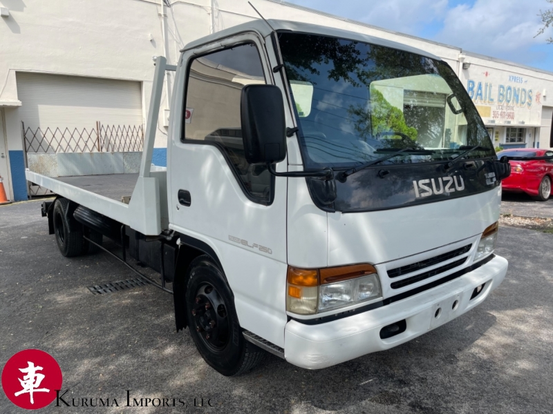 Isuzu Elf Turbo Full Flat Tow Truck 1996 price Private Collection