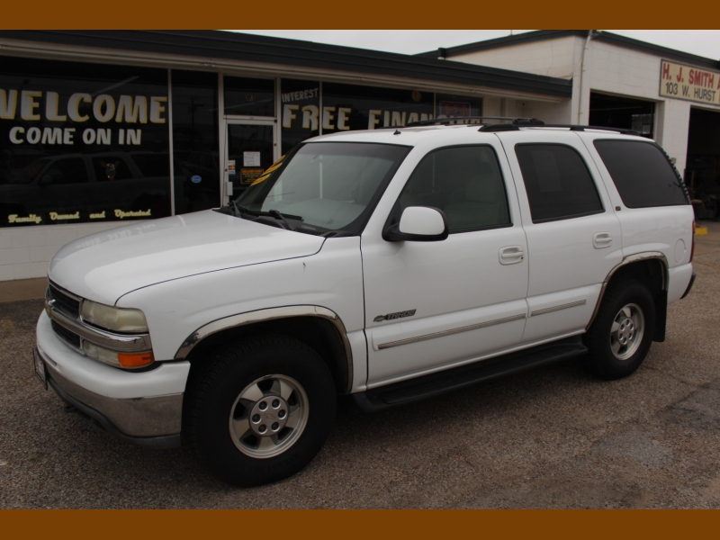 Chevrolet Tahoe 2002 price $7,995