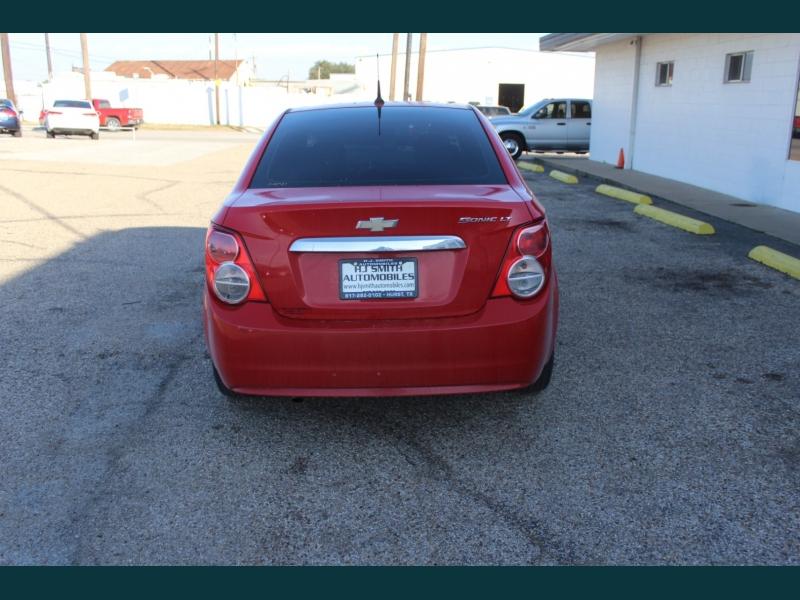 Chevrolet Sonic 2013 price $7,995