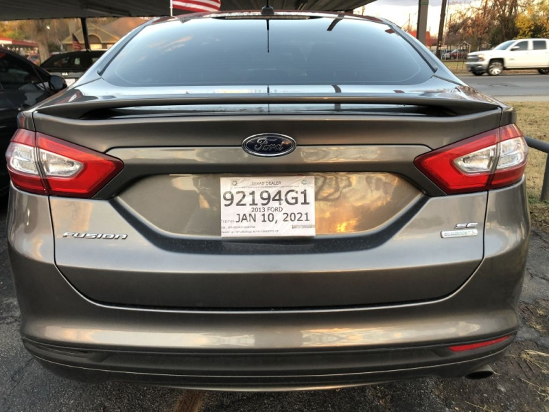 FORD FUSION 2013 price $11,595