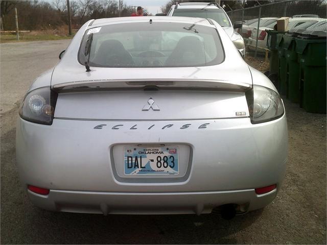 Mitsubishi Eclipse 2007 price $4,000